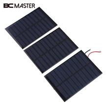 BCMaster NEW 5V 160mA Solar Panel Battery power charger Module DIY Cell boat home Solar Panel Portable Power