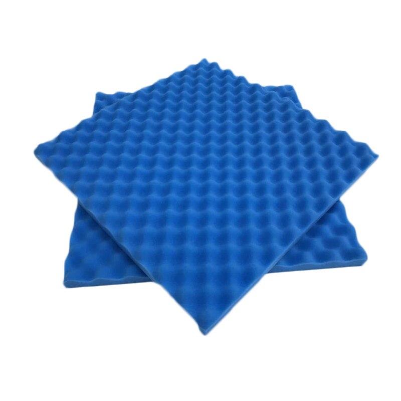 Звукопоглощающие губчатые звукоизоляционные пены акустическая пена регулирование звука студия поглощения комнаты Клин плитка полиуретановая пена - Цвет: dark blue