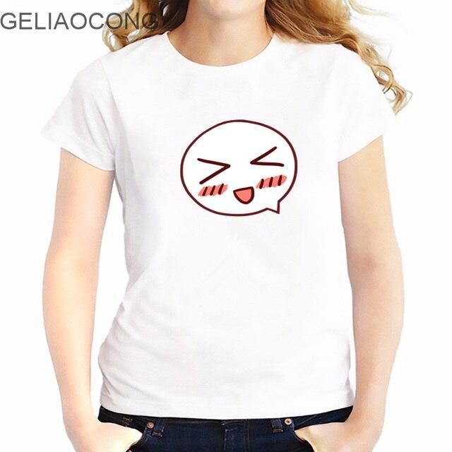 Geliaocong Dames T Shirt 2017 T Shirt Bande Dessinee Undertale Sans