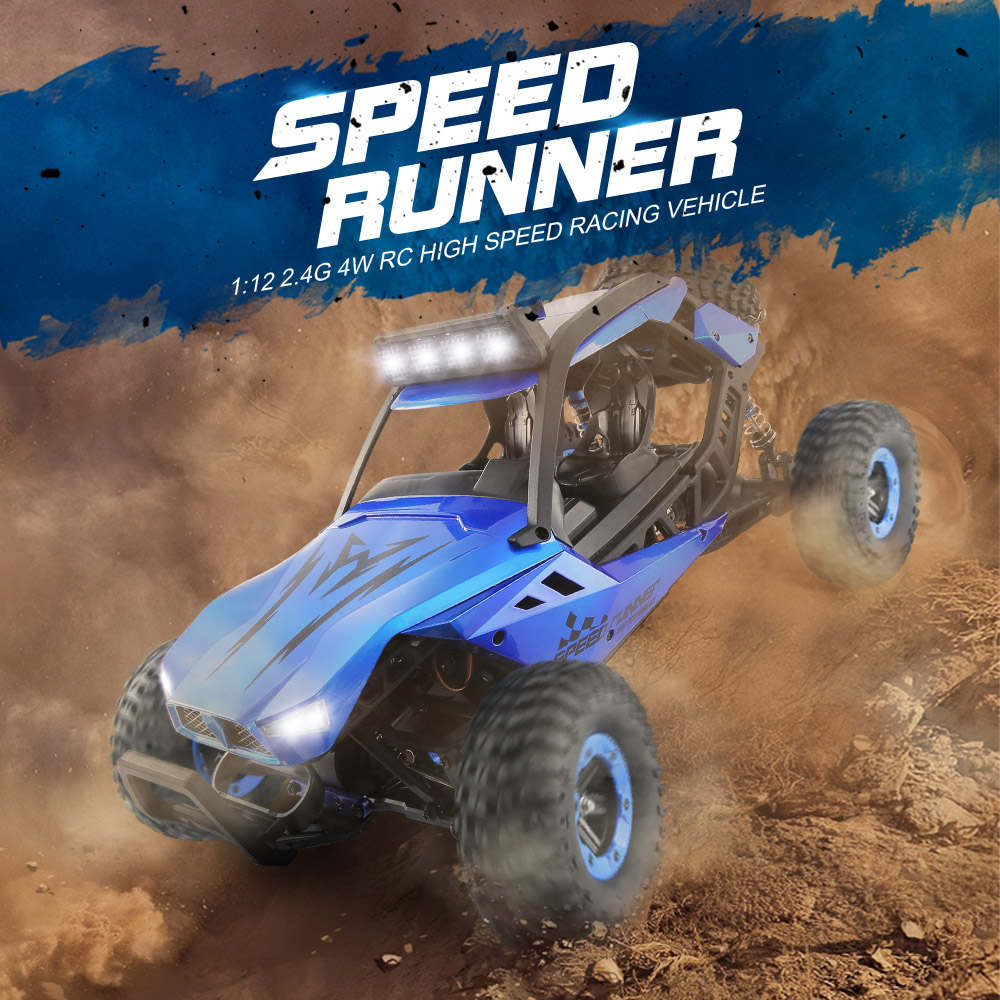 JJRC JJRC Q46 112 2.4G RC Car 4WD 45kmh High Speed Rock Crawler Desert Buggy Cars RTR for Kids Children Gifts RC Toys (7)