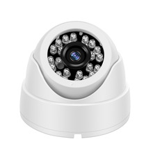 YiiSPO Plastic Mini IR Dome Camera 24pcs LED Board Video Security Camera Indoor CCTV AHD 720P/960P/1080P FULL HD цена