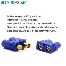 10 пар/Лот EC3 Золотая пуля кабель Разъем для подключения типа банан с корпусом для RC Lipo батарея ESC Регулятор скорости двигателя часть
