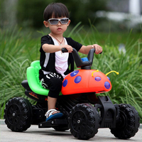 Children Electric Toy Vehicles Motorcycles Electric Cars Beetles with Early Education Kids Motorcycle Can Ride on Toy Car