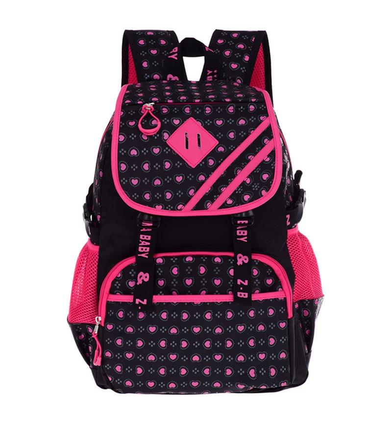 Hot Nylon School Bags for Girls Boys Orthopedic Children font b Backpacks b font font b