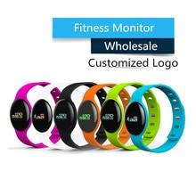 Banda de Frecuencia Cardíaca H8S Fitness muñequera reloj contador de Calorías reloj pulsera para IOS y Android smartphone