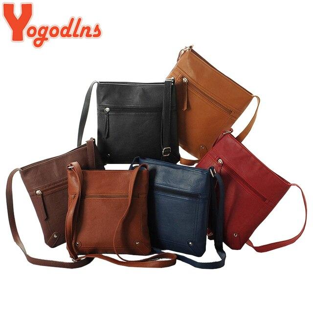 Yogodlns Designers Women Messenger Bags Females Bucket Bag Leather Cross body Shoulder Bag Handbag Satchel