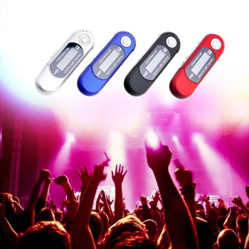 Mini USB Flash MP3 Player LCD Screen Support Flash 32GB TF/SD Card Slot Digital Mp3 Music Player