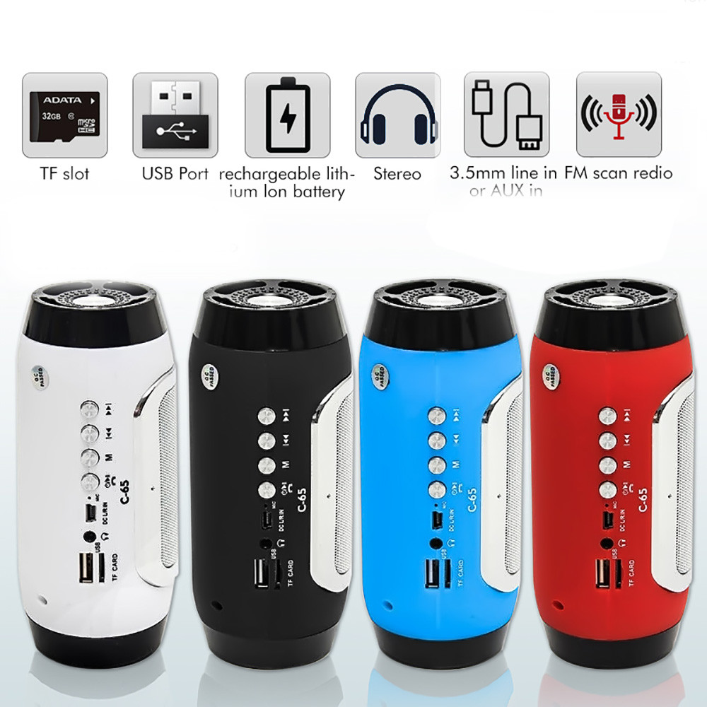 HIPERDEAL Bluetooth Wireless Portable Mini Stereo Speaker MP3 FM For Smartphone