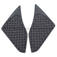Motorcycle Tank Traction Pad Side Knee Grip Protector Decals for yamaha MT03 MT-03 2015 2016 Motorbike Knee Grip Decals Stickers