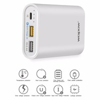 10000mAh Mobile Phone Power Bank Fast Charging Dual USB Output Powerbank Portable External Battery Pack With