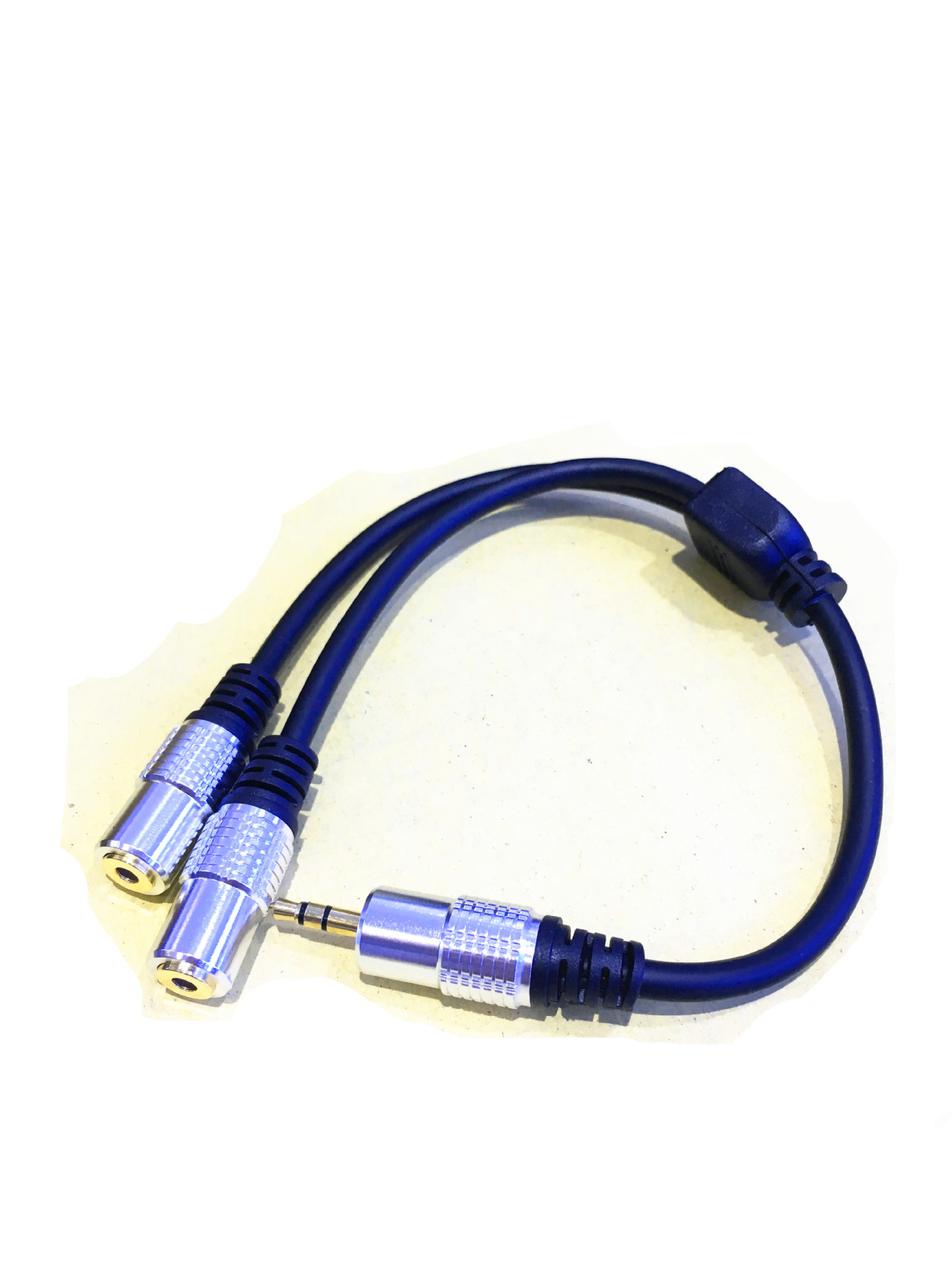 Friendly Dc 3.5mm Trrs 3 Pole Male To 2 3.5mm Female Input Trs Stereo Audio Adapter Splitter Cable Microphone And Headset 0.3m Back To Search Resultscomputer & Office