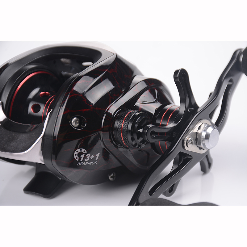 lagarto roda equipamento de pesca baitcast 13bb 02