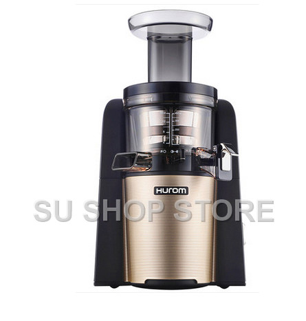 New hurom Slow Juicer HUE21WN Fruits Vegetable Low Speed Juice extractor whole slow juicer 300w 75 cm fruits low speed juice extractor juicers fruit machines
