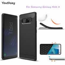 sFor Cover Samsung Galaxy Note 8 Case Youthsay Carbon Fiber Case For Samsung Galaxy Note 8