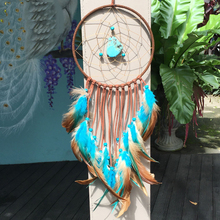Handmade Dream Catcher Net With Feathers