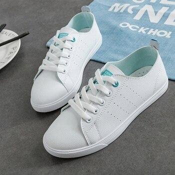 WAWFROK las mujeres zapatos casuales zapatos de verano de 2018 mujeres de  primavera zapatos planos zapatos de moda transpirable vulcanización de  encaje de ... 5b5bde86040