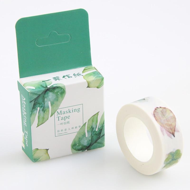 Buy Leaves Washi Paper Decor Mask Washy