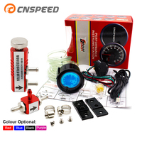 252mm Gauge Impulse EVO LCD 7 Color Turbo Boost Gauge with Adjustable Auto Turbo Kit PSI 1 30 IN CABINE Pulse Controller