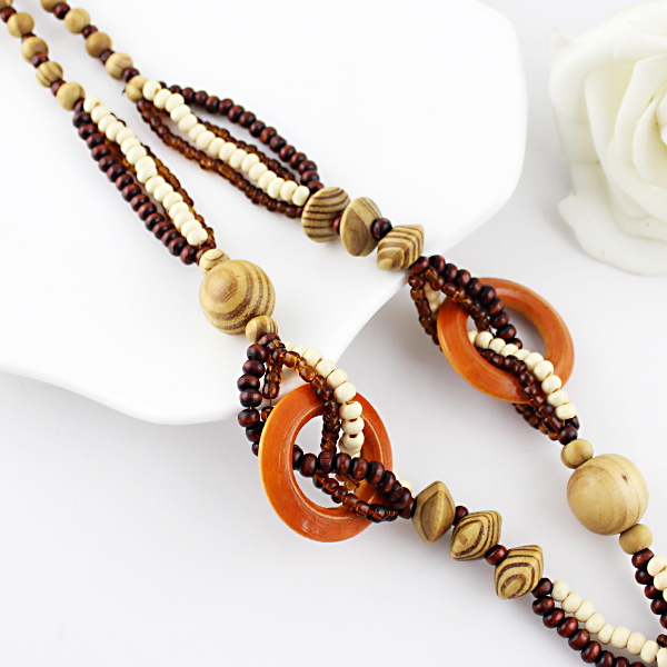 Boho Ethnic Long Necklace