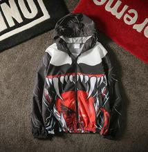 yizlo 3d anorak jacket men women y 3 college jacket windbreaker jaqueta masculina rashguard bigbang bomber