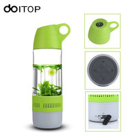 DOITOP Water Bottle Outdoor Bluetooth Speaker Portable Cup Compass Wireless Speaker Subwoofer Hifi Stereo Music Player