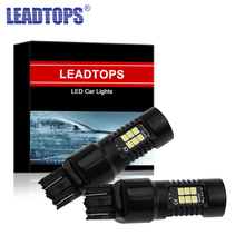 2pcs T20 7443 Amber Led Car LED Bulb 7440 Auto DRL 18 SMD Stop Reverse Brake Light  Strobe 12V CJ