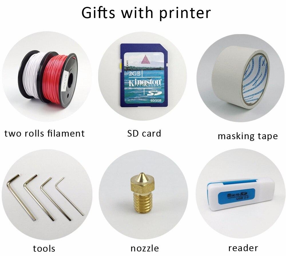 Flsun I3 3d impresora Auto nivel DIY 3D-Printer Kit todo Metal doble ...