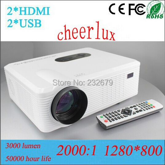 aliexpress com buy lcd style hd video beamer with 2hdmi 2usb