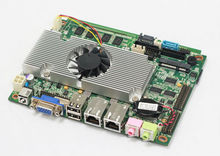 With intel atom N570 processor 8.5w power supply motherboard with 6 com rs232/485/2gb Ram