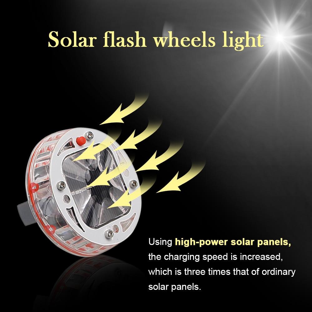Kolesne luči za avtomobilske pnevmatike 4 paketno sončno pesto - Avtomobilske luči - Fotografija 3