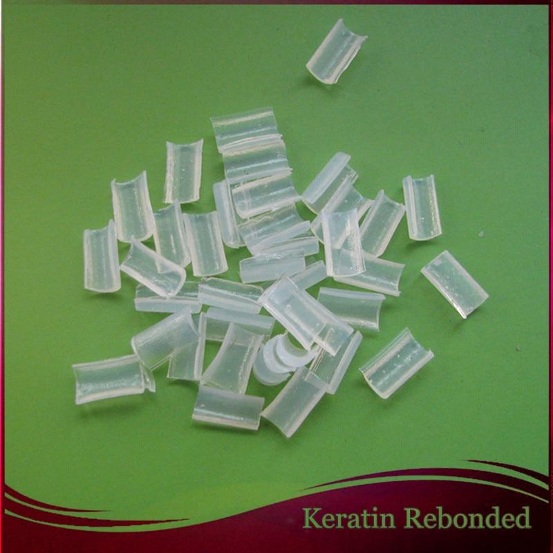 1000 Pcs Keratin Nail Tip Rebonded Hair Extensions Keratin Bonding