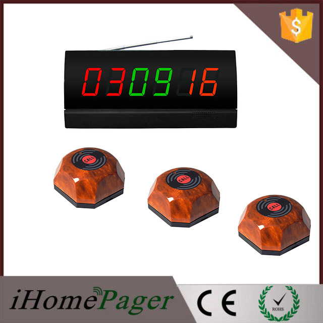 table buzzer system consist of 10pcs of service buzzer and 1pcs of display receiver.