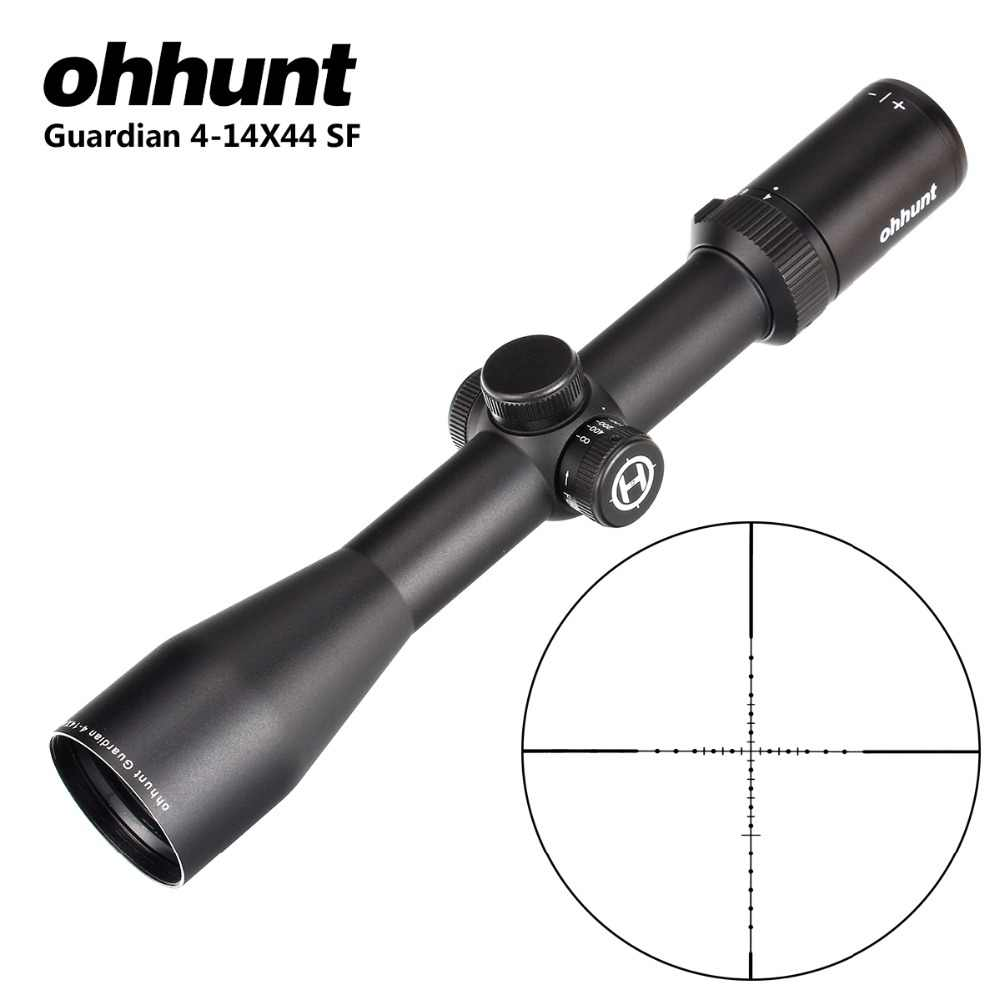 Ohhunt אפוטרופוס 4-14X44 SF טקטי אופטי צלף מראות הצד Parallax Riflescope עם KillFlash כיסוי עבור ירי רובה