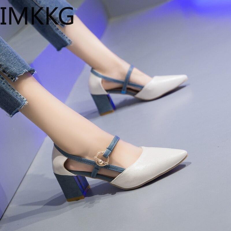 HTB1e4pFXlWD3KVjSZKPq6yp7FXag Summer Women Sandals platform heel Leather hook loop metal Soft comfortable Wedge shoes ladies casual sandals V284