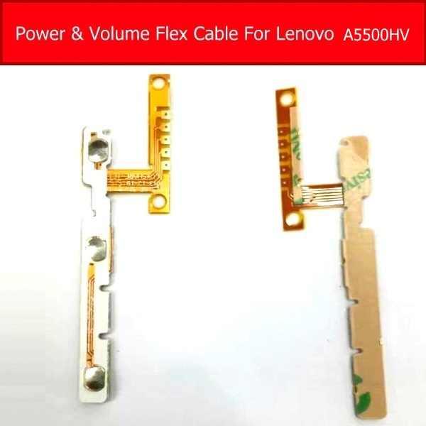 100% طبيعي حجم الطاقة فليكس كابل لينوفو A8-50 A5500HV A5500 الجانب لوحة المفاتيح التبديل زر شريط مرن كابل استبدال
