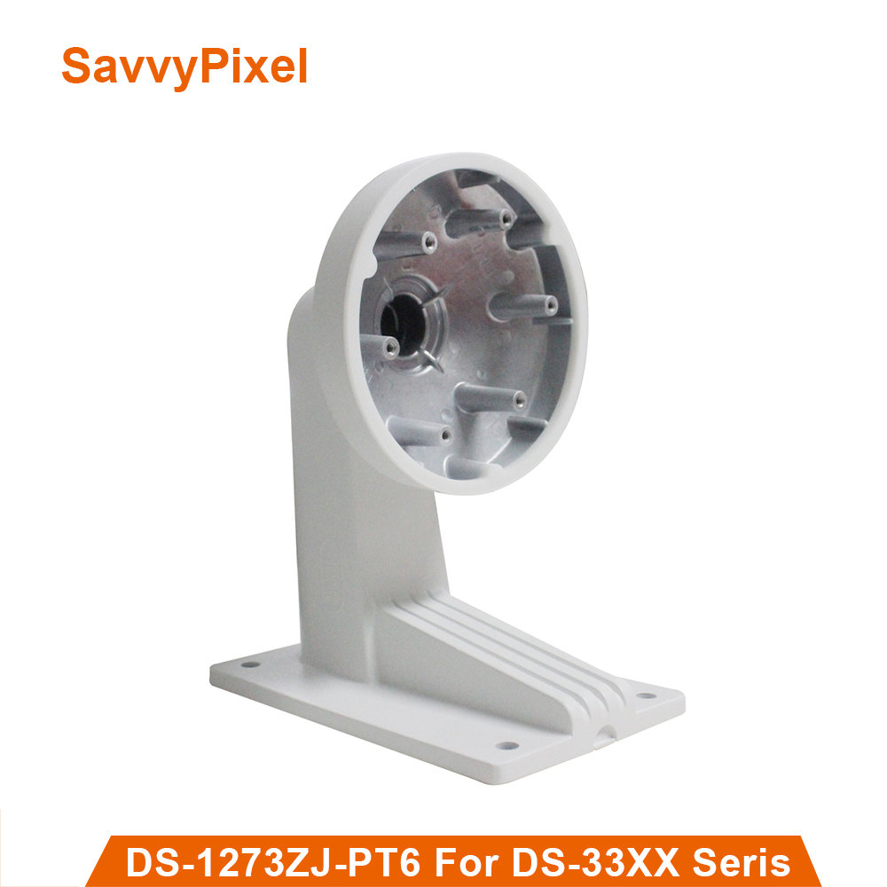 High Quality Wall Mount Bracket DS-1273ZJ-PT6 For CCTV Camera Support for PTZ Dome Camera DS-2DE3304W-DE cctv bracket ds 1212zj indoor outdoor wall mount bracket suit for bullet camera s bracket ip camera bracket
