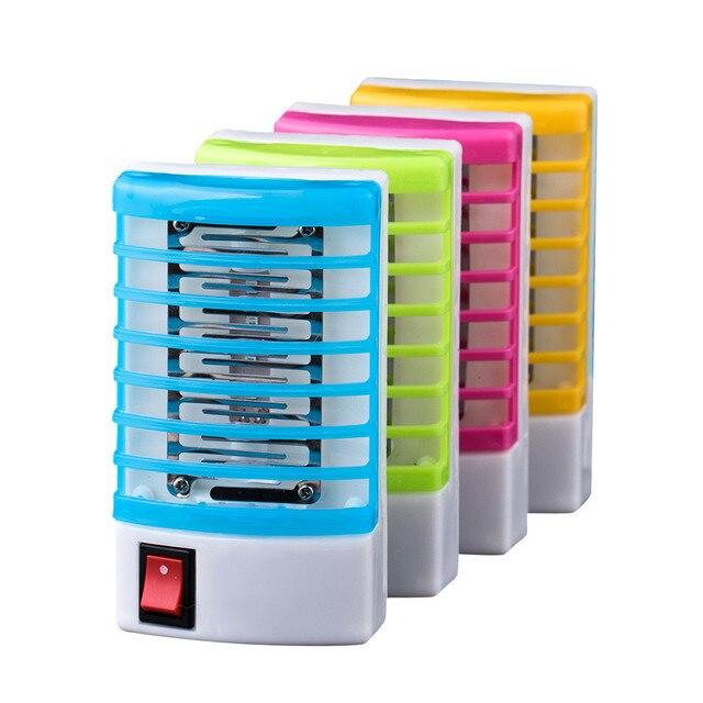 1 pz Spina 220 v Presa Elettrica Mini Zanzara Lampada LED Insetto Repeller della