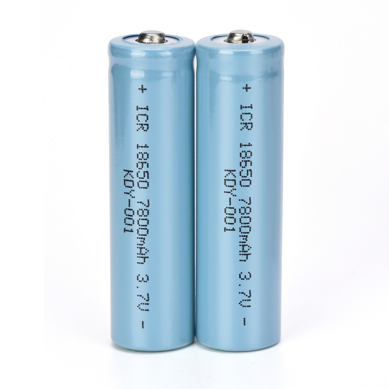 ISHOWTIENDA New 2PCS 3.7V 7800mAH Li-ion Rechargeable 18650 Battery For Flashlight Torch for emergency lighting