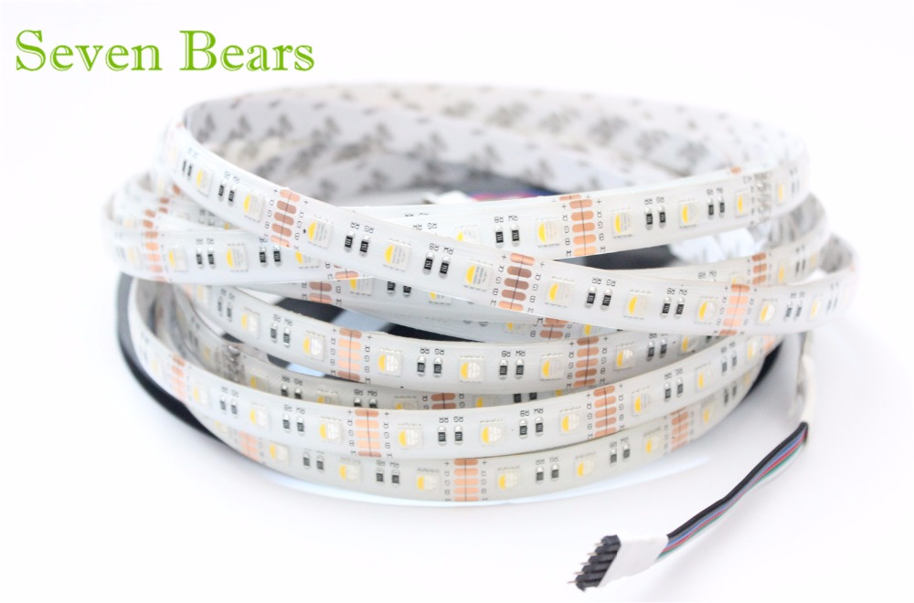 5m RGBW RGBWW 5050 Led Strip Light DC 12V 24V 4 en 1 Led Chip - Iluminación LED - foto 5