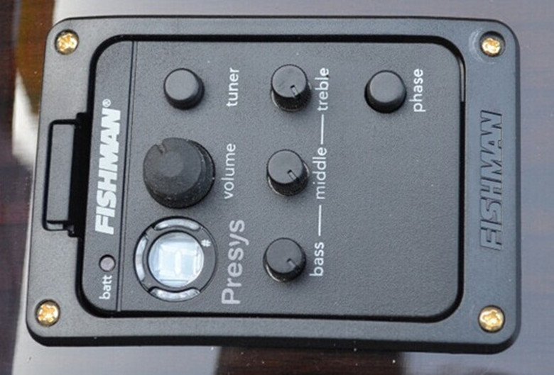 цены Not Sell Separately****** Original Fishman 101 EQ Equalizer for Acoustic Guitar Preamp Pickup