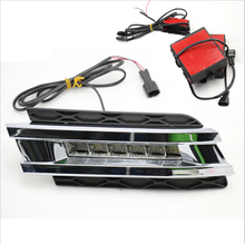 Free shipping LED Daytime Running Light,LED DRL For Mercedes Benz GL320 W164 GL350 GL420 GL450 2006-2009 for auto ac compressor mercedes benz x164 gl320 gl420 gl450 w251 v251 r280 r320 2483000870 2483001210 4371007110 4471500240