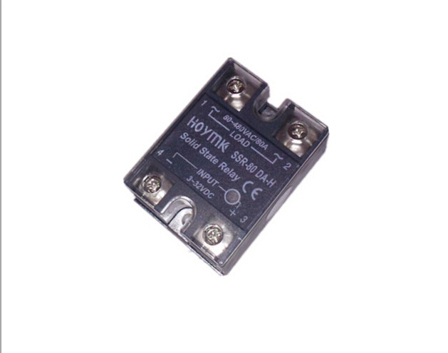 HOYMK Single-phase solid state relay DC control AC SSR-80DA-H high pressure 80A