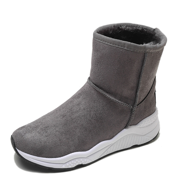 Winter Snow Boots Women Casual Shoes Slip On Warm Plush Women Ankle Boots Flat Heel Sport Ladies Shoes Booties Botas Mujer XZ82 (23)