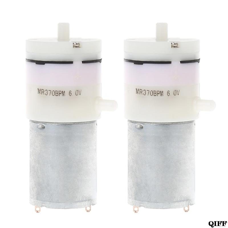 2x Dc 3 V-6 V 5 V 370 Motor Micro Mini Luftpumpe Vakuum Für Aquarium Tank Sauerstoff Mar28 Sanitär Heimwerker
