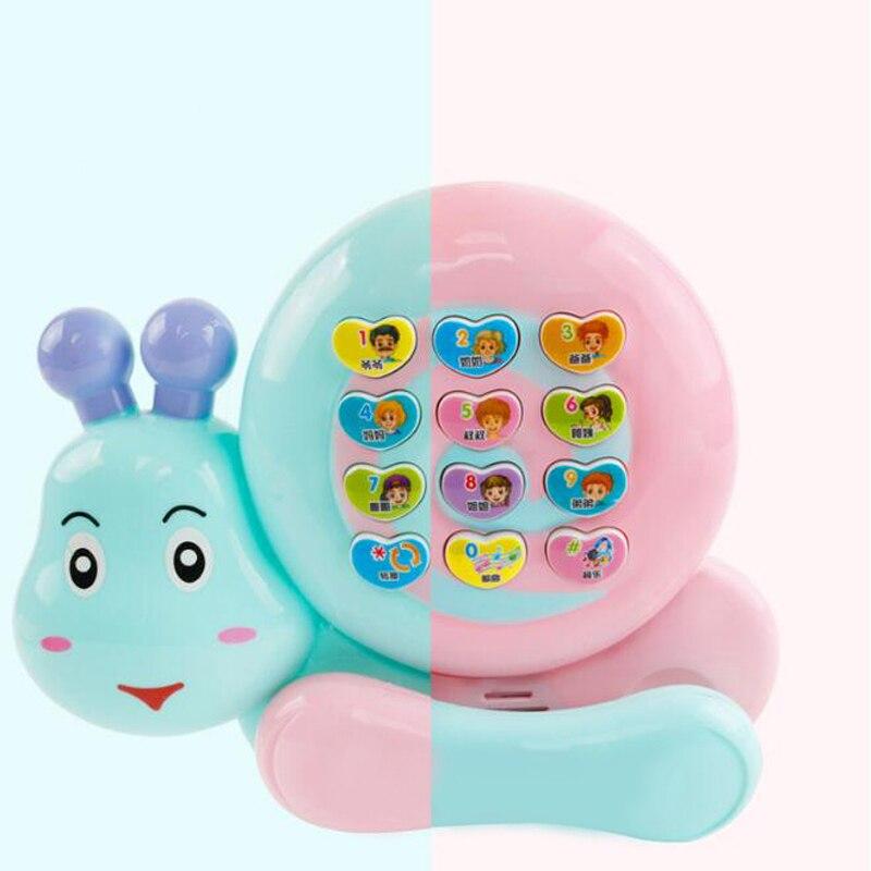 1 Pc Frühen Pädagogisches Spielzeug Simulation Glowing Singen Song Handy Interaktive Spielzeug Licht Musik Für Baby Kids Infant Spiele Weder Zu Hart Noch Zu Weich