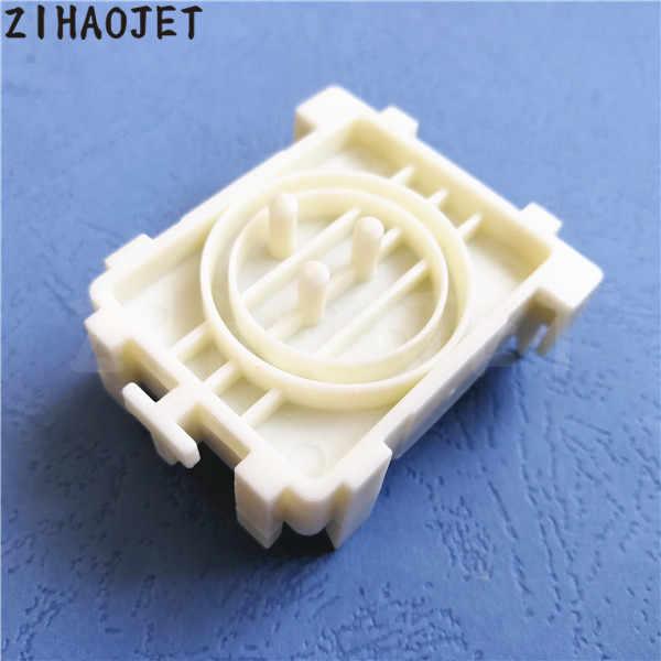 5 pcs untuk Epson DX5 DX7 kepala capping station/Indoor eco pelarut printer Yongli Galaxy topi atas dengan tiga lubang warna putih
