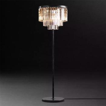 Светодиодный светильник для гостиной, современный светильник для дома, Светильники для дома, хрустальные напольные светильники для спальн...