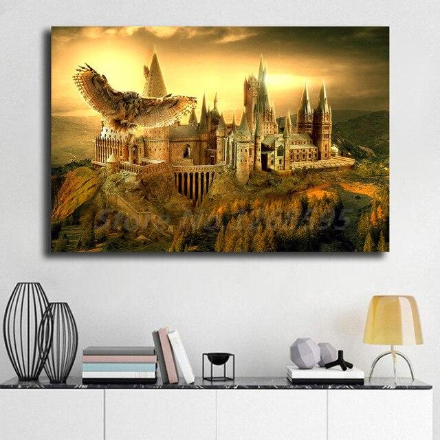 Гарри Поттер HD настенное Искусство Холст постер и принт холст живопись, декоративная картина для офиса гостиной домашний декор