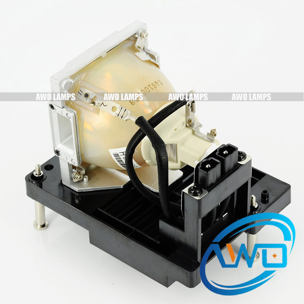 AWO R9801087 Original UHP 400 watts Projector Lamp with Housing for BARCO RLM-W12 Top Quality Lamp Wholesales free shipping compatible projector lamp with housing r9832752 for barco rlm w8