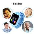 1.54 polegada oled gps crianças smart watch com câmera/facebook/chamada sos localização rastreador para o miúdo segura devicer anti-perdido do monitor